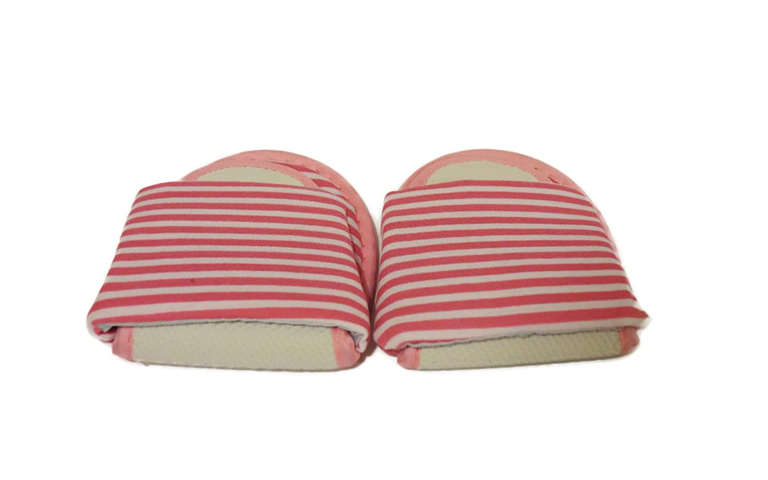 Super Light Foldable Travel Hotel Folding Slippers Flip Flop Open Toe with Portable Carrying Bag 26cm (10.2 Inch)