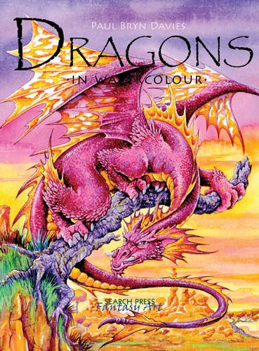 Dragons in Watercolour (Fantasy Art) pdf epub