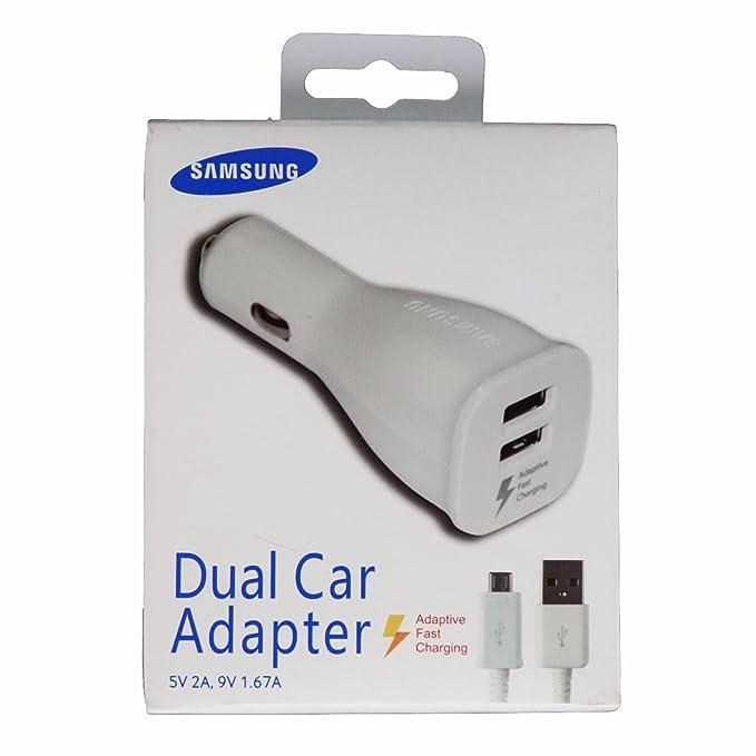Oficial Samsung Original Cargador de coche Dual Puerto de ...