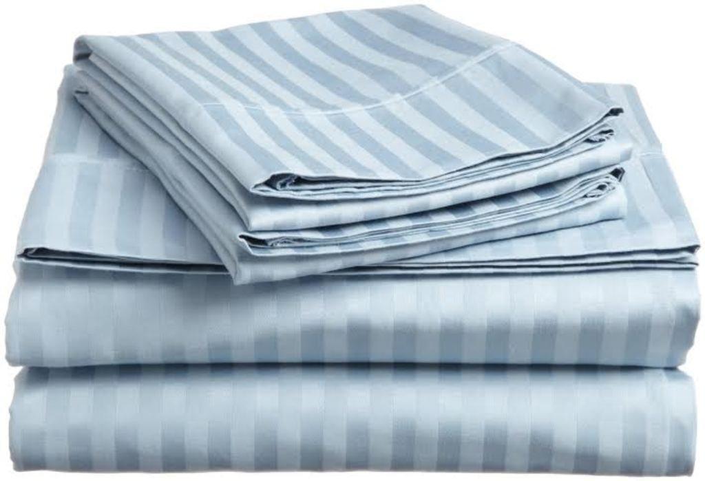 Sleepwell Ropa de cama 600 hilos satén acabado, Super suave y duradero 4 piezas Juego de sábanas (+ 36 cm) profundidad de bolsillo emperador tamaño, ...