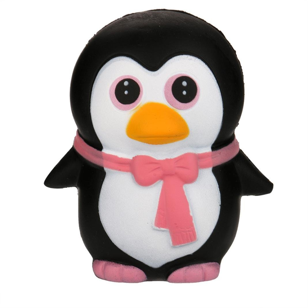TrimakeShop Squeeze Penguin Cream Bread Scented Slow Rising Toys Phone Charm Gifts