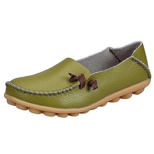 Loafers Slippers Mokassin Flache Halbschuhe Fahren Bootsschuhe Schuhe Sommerschuhe Heheja Damen c1lJKF