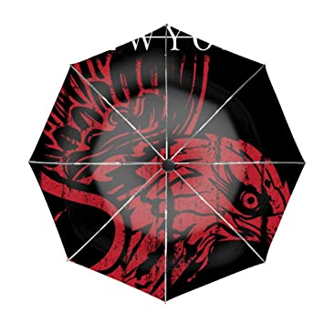 06a7f1e5dc5d Amazon.com: Compact Umbrella,New York Typography Automatic Folding ...