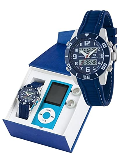 Reloj marea niño b35280/4 analogico digital con reproductor MP4: Amazon.es: Relojes
