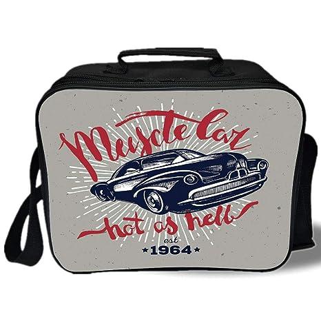 Amazon.com: Bolsa térmica para el almuerzo, para coches ...