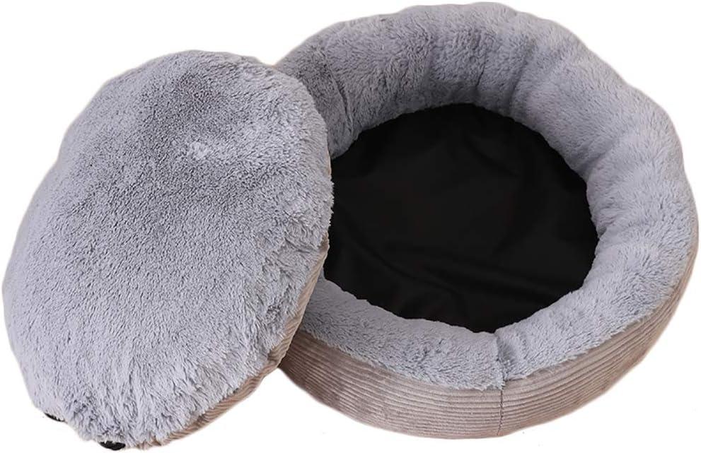 Shuda Cama para Mascotas Cama para Perro Gato Conejo Plegable Mascota Cálido Nido Cueva Sofá Casa Cama Hogar y Exterior Black Friday Juguetes 1Pcs 40X15CM: Amazon.es: Hogar