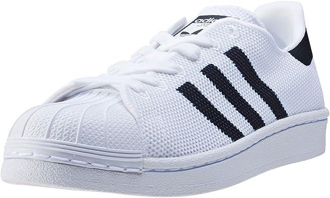 adidas Superstar J Kids Trainers White