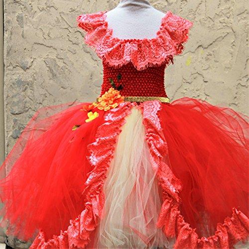 Elena of Avalor Dress - Elena Halloween Costume (Make Maleficent Horns)