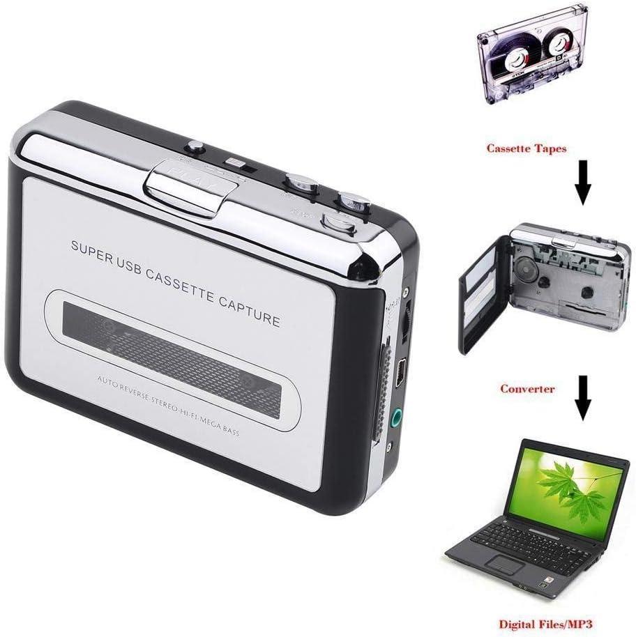 Dansrueus Just Out Cassette to MP3 Converter USB Cassette Player ...