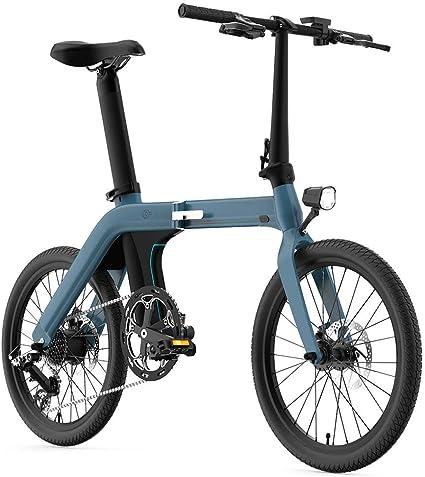 Coolautoparts Bicicleta Eléctrica Plegable 20 Pulgadas 250W 30km/h Ciclomotor Bicicleta de Ciudad/Montaña de Aluminio Bateria Litio Display LCD 3 Modos para Hombres Mujeres Adultos [EU Stock]