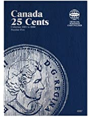 Canada 25 Cents Coin Folder Number Five: Collection 2001 to 2009