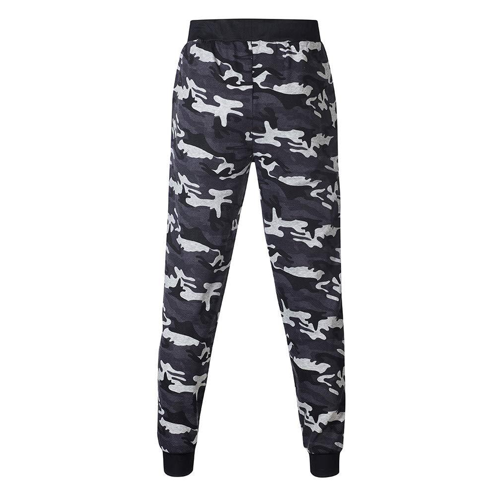 ♚Conjuntos de Trajes Deportivos para Hombres, Otoño Invierno Impreso Sudadera Top Pantalones Chándal Absolute: Amazon.es: Ropa y accesorios