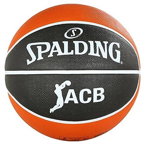 Spalding ACB Tf50 Sz. 5 (83-664Z) Balón de Baloncesto, Unisex ...