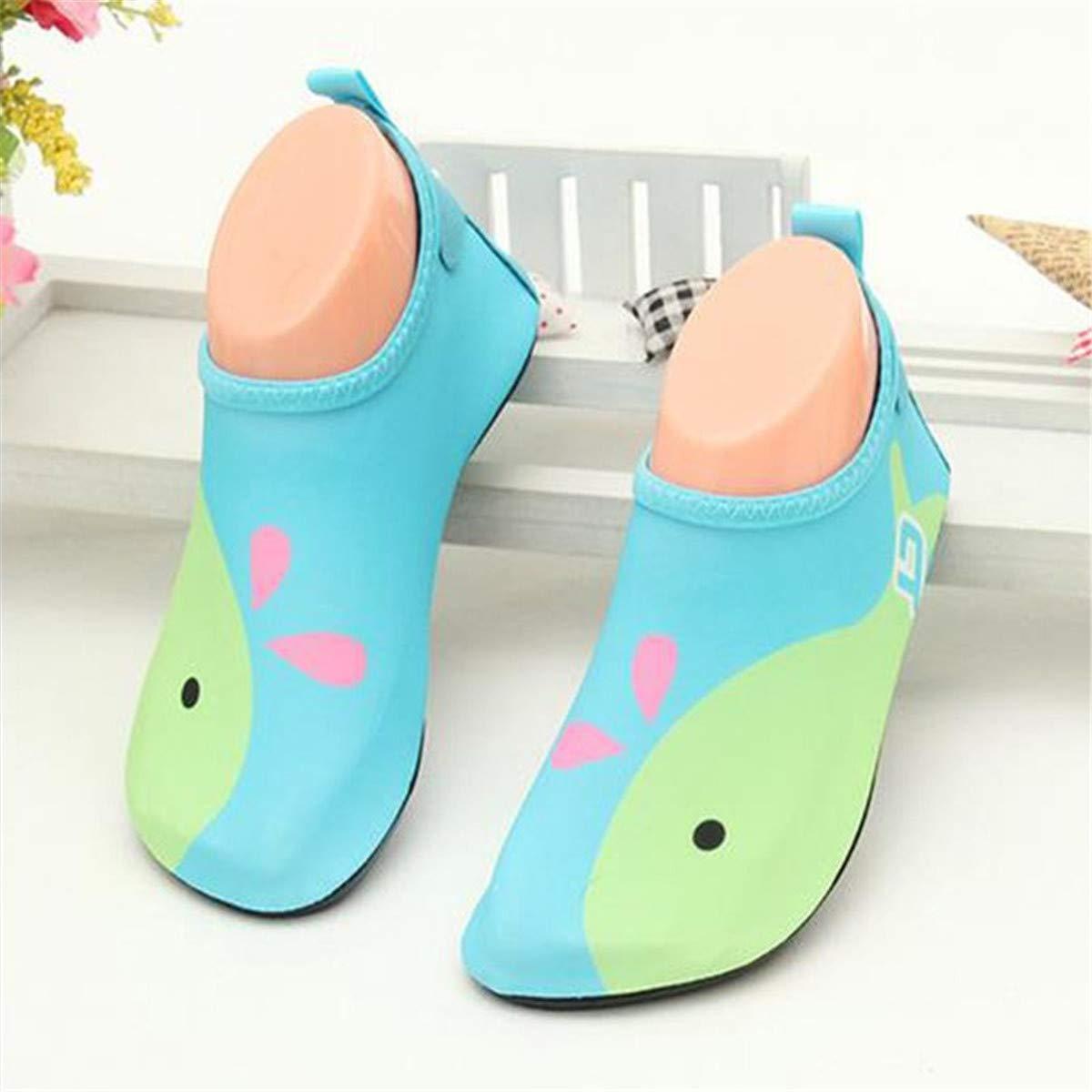 Toddler Kids Boys Girls Unicorn Swim Water Shoes Barefoot Aqua Socks Shoes Quick Dry Non-Slip Beach Pool Surfing Yoga Sports Shoes