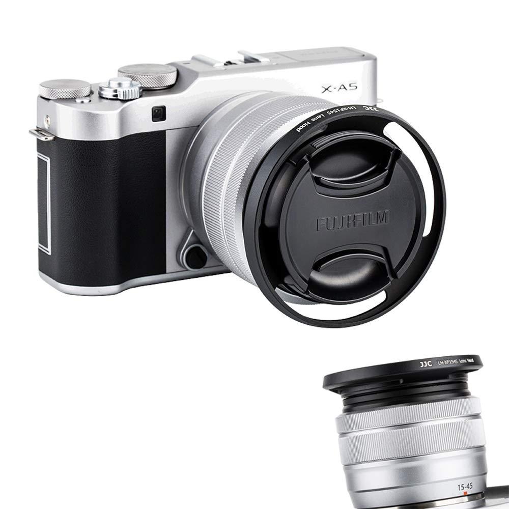 Parasol Compatible con Fujinon XC15-45mmF3.5-5.6 OIS PZens Fujifilm X-A5 JJC