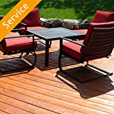 Looking for Patio Set Assembly? Hire a handpicked service pro from Amazon Home Services. Backed by Amazon's Happiness Guarantee.