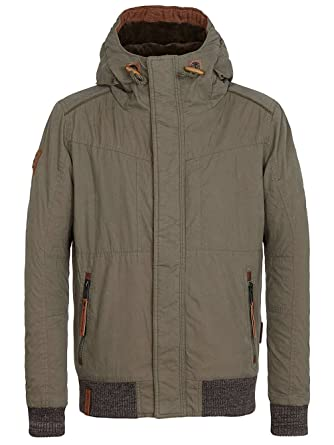Naketano Schwanzloses Opfa Jacket Dark Green XL: Bekleidung