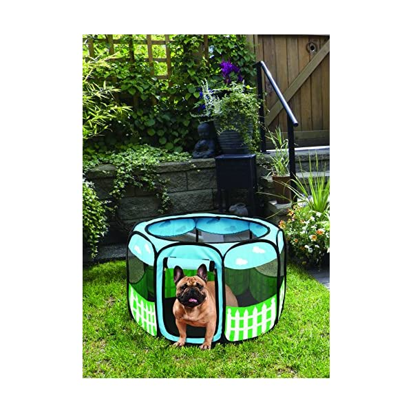 (Large) – Pet Portable Foldable Play Pen Exercise Kennel Dogs Cats Indoor/outdoor Tent For Click on image for further info. 7