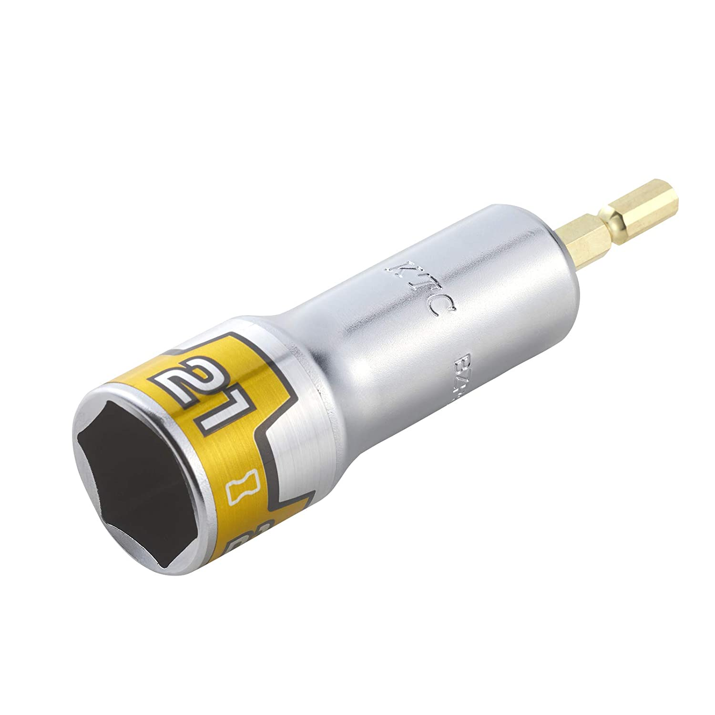 京都機械工具(KTC) ソケットビット 難攻不落 21mm BZP63-21 18Vインパクトドライバー対応