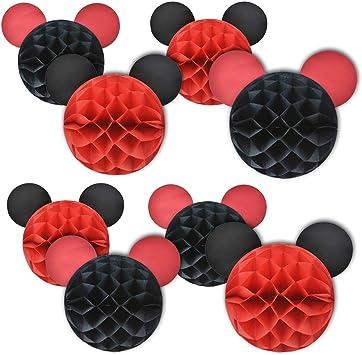 Amazon.com: Suministros para fiesta de Mickey Mouse Mickey ...
