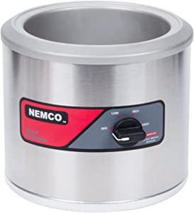 Nemco - 6100A - 7 Qt Round Countertop Food Warmer