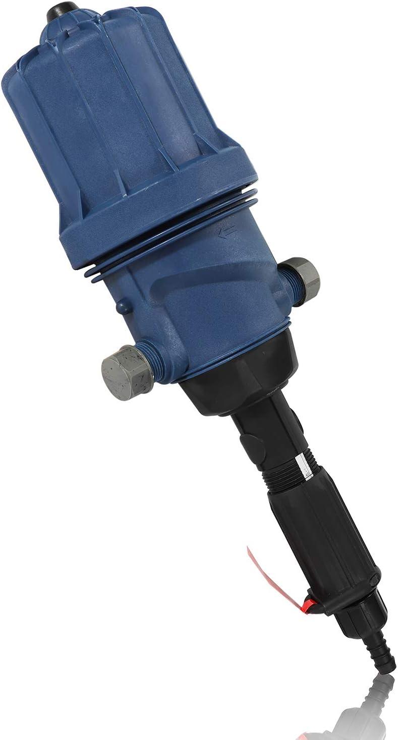 NEWTRY 0.2%-2% Fertilizer Injector Adjustable Water Powered Dosing Pump Liquid Doser Dispenser Drip Irrigation Injector for Industry Garden Hose Livestock