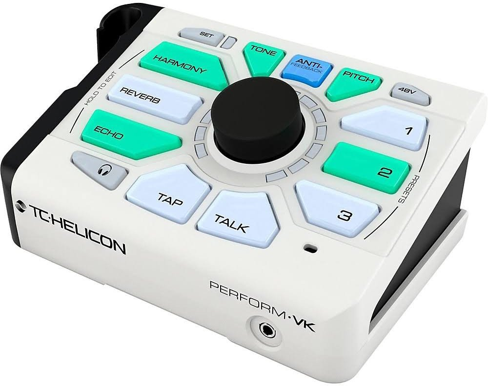 TC Helicon 996367005 Perform-VK Vocal Effects Unit w/ Cloth, 2 Instrument Cables, and XLR Cable by TC-Helicon (Image #3)