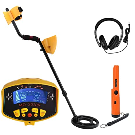 Amazon.com: MIQIKO Digital Metal Detector, High-Accuracy ...