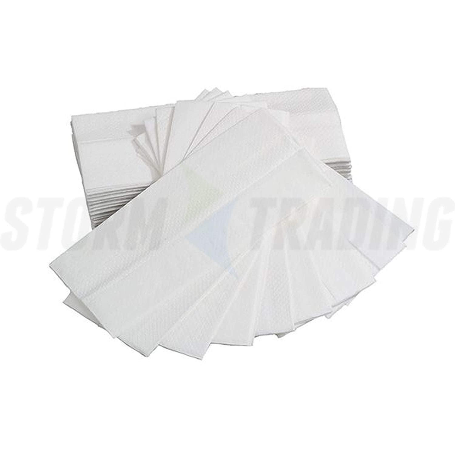 2624 White C Fold High Quality Hand Tissue Paper Wiper Towels 1 Ply