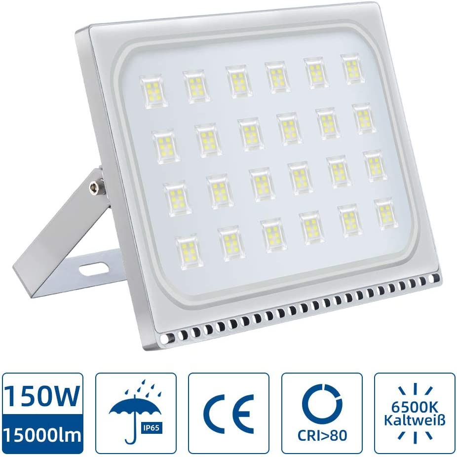 Focos LED Exterior 150W,6000K IP67 mpermeable Proyector Reflector ...