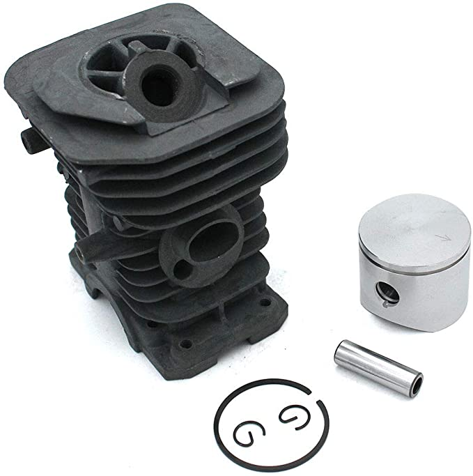 Kits de pistón de cilindro 38 mm para motosierra Husqvarna 36 136 136LE 137 137E Motosierra Jonsered 2036 PN 530069417 530014303 530069940 530014823