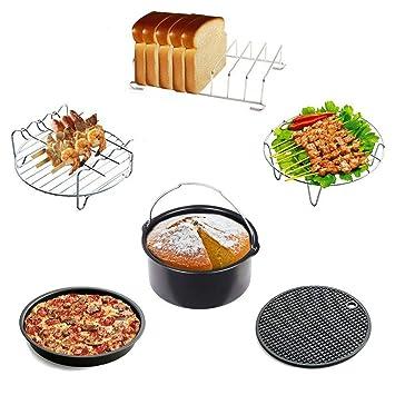 Accesorios para Airfryer freidora de aire caliente – Barril para tarta/pizza Plato/estructura