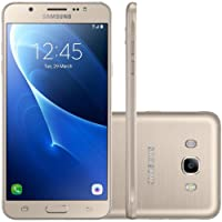 "Samsung - Smartphone Galaxy J7 Metal Duos J710M, Tela 5.5"", 16GB, Dourado"