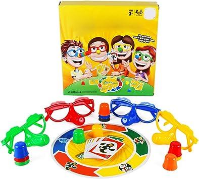 Juegos de Fiesta, Diversión Familiar Mentiroso Juego de Mesa de Fibra Interesantes Juguetes Interactivos Familiares para Niños Adultos: Amazon.es: Juguetes y juegos