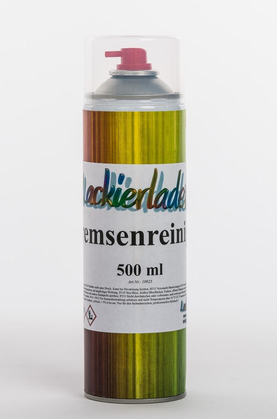 Lackierladen 12 x Bremsenreiniger 500 ml Teilereiniger, Bremsen Reinger Spray