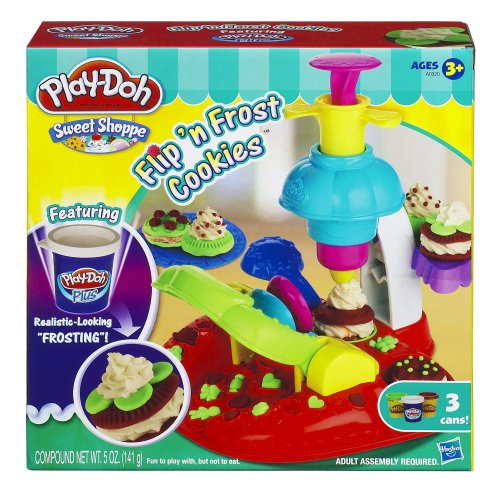 Play-Doh Sweet Shoppe Flip 'N Frost Cookies Set (Play Doh Ice Cream Set compare prices)