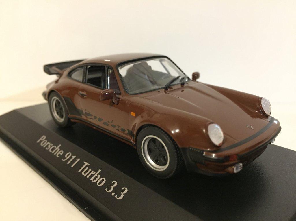 Maxichamps - Vehículo en Miniatura - Porsche 911 Turbo 3.3 L - 1979 - Escala 1/43: Amazon.es: Juguetes y juegos
