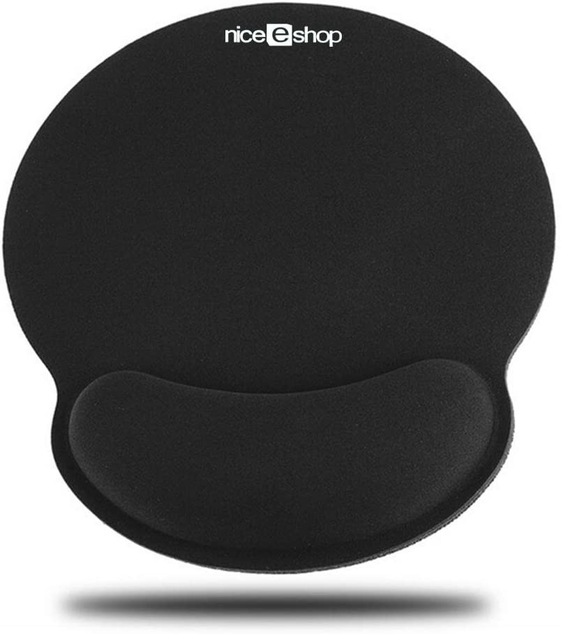 Laptop Computer Gaming Teepao Ergonomic Wrist Cushion Support for Office Keyboard Wrist Rest Pad and Mouse Gel Wrist Rest Support