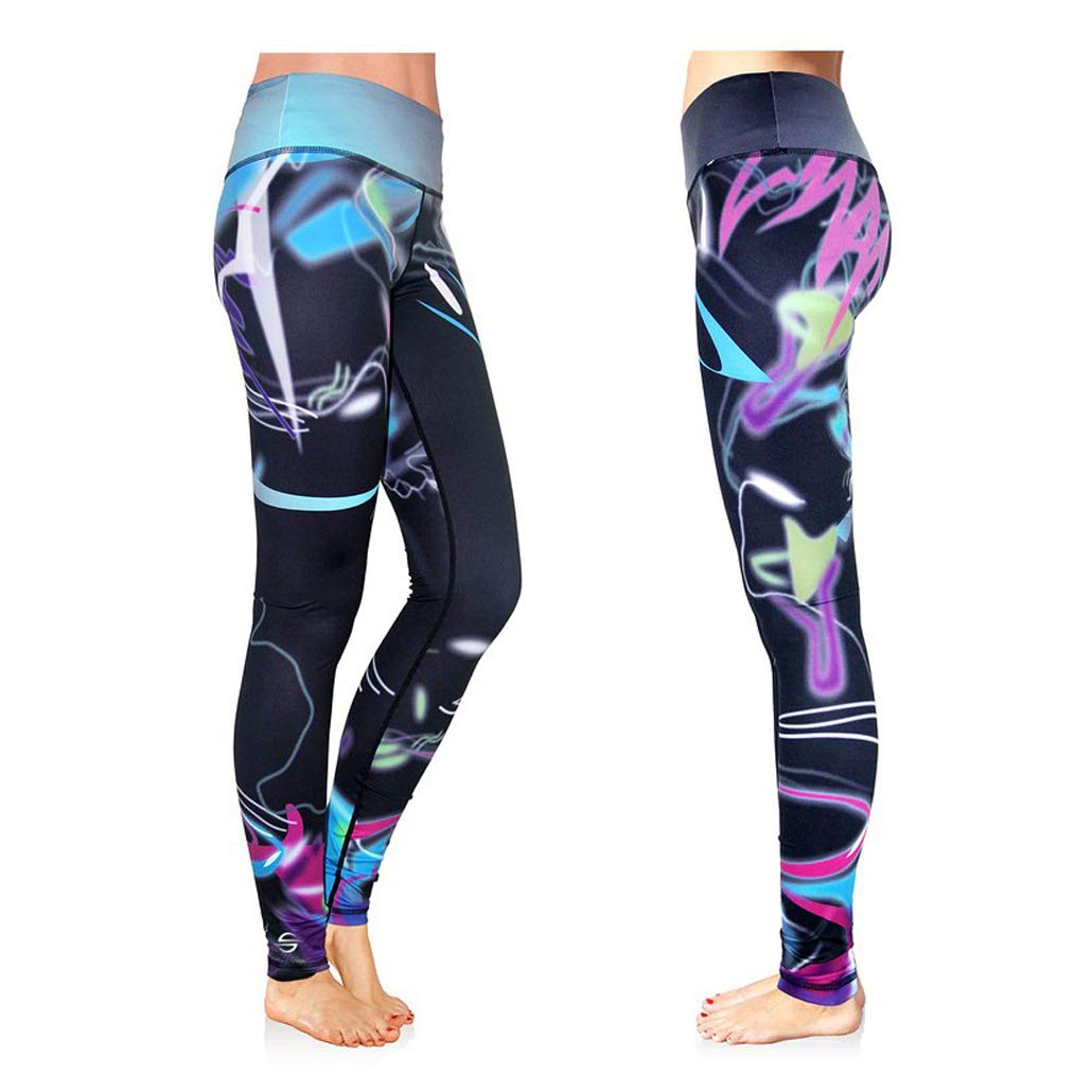 with Printed Designs Platinum Sun Womens Swim Leggings UPF 30