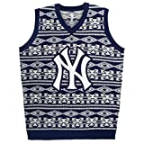 New York Yankees Aztec Print Ugly Sweater Vest Small
