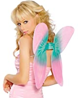 Sexy Pink Fairy Pixie Butterfly Wings Costume Accessory