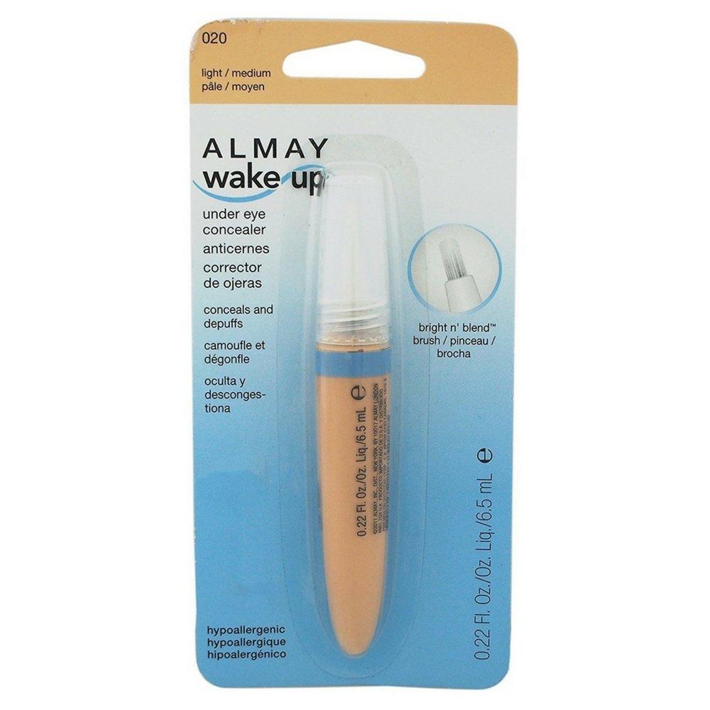 Almay Wake Up Under Eye Concealer, Medium [30] 0.22 oz (Pack of 2)