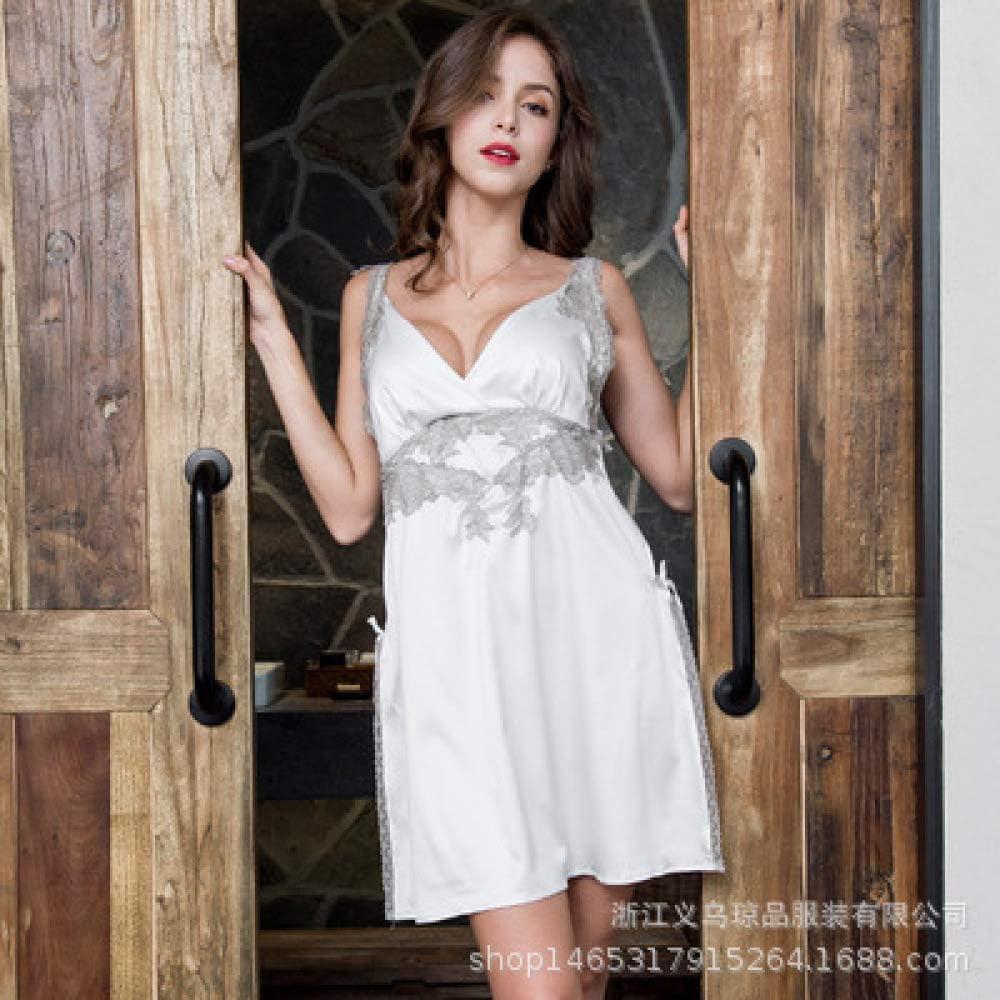 Sling pequeño Pijama Fresco sección Delgada camisón Damas Falda ...