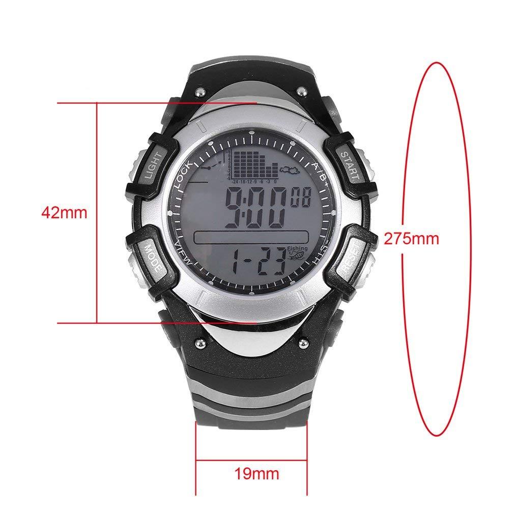 Smartwatches Reloj de Pesca Digital barómetro 3atm ...