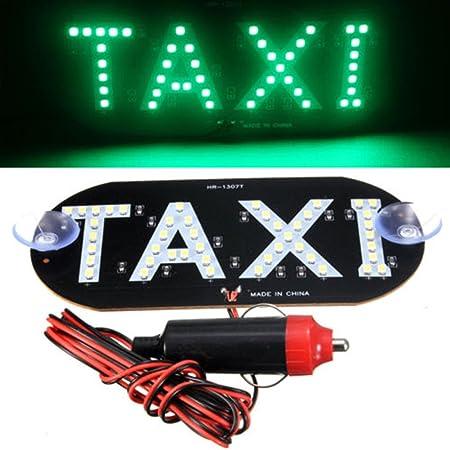 STARE89 1PC Taxi Luz DC 12V LED Auto Vehículos Coche ...