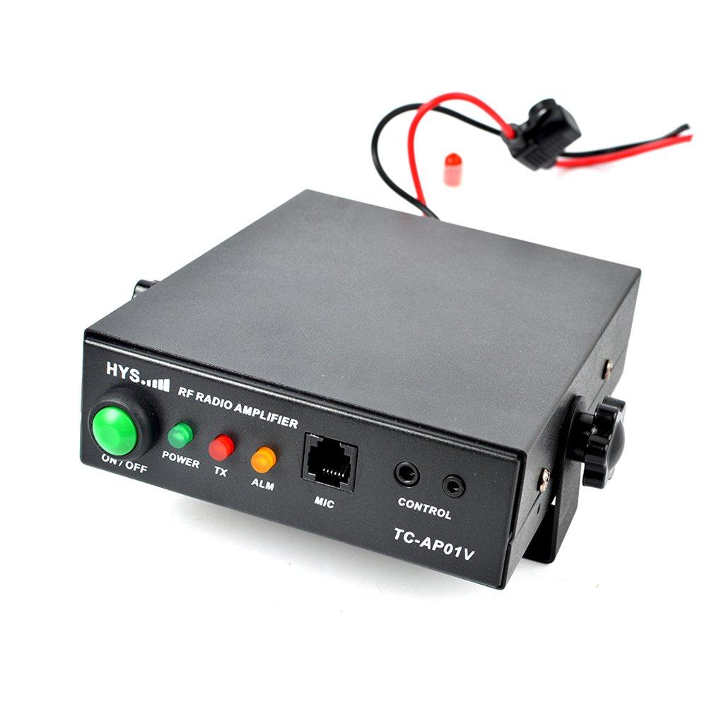 HYS 25W VHF 137-174MHz 2M Ham Walkie Talkie Power Amplifier For Motorola GP328 GP338 PRO5150 PRO7150 GP320 2 Way Radio by HYS (Image #2)