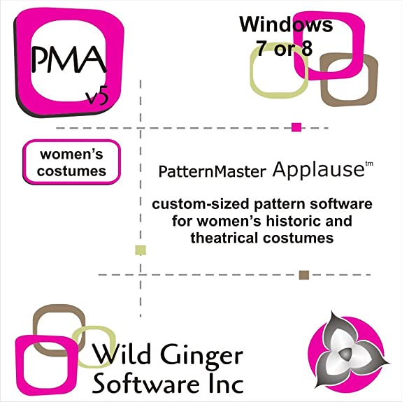 Amazon.com: PatternMaster Applause for Women v5 Sewing Pattern ...