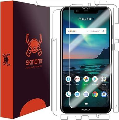 Skinomi - Protector de Pantalla para Nokia 5.1 Plus (Incluye ...