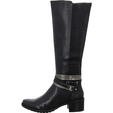 Boots femmes Caprice 25514 21 Fermeture Cuir En Éclair Bottes zFFqwRt