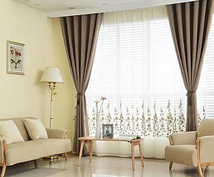 Tende Moderne Per La Camera Da Letto : Tende moderne tende a tamponi isolati termici solidi morbidi
